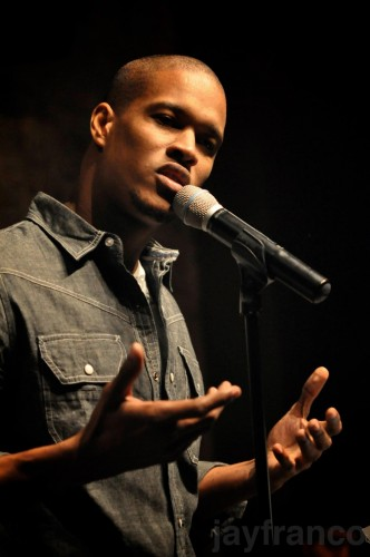 Performing at The Inspired Word NYC