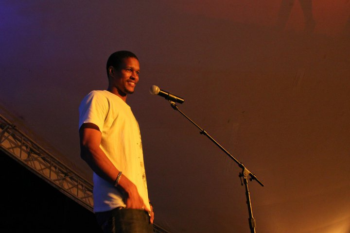 Performing at Saamans Park