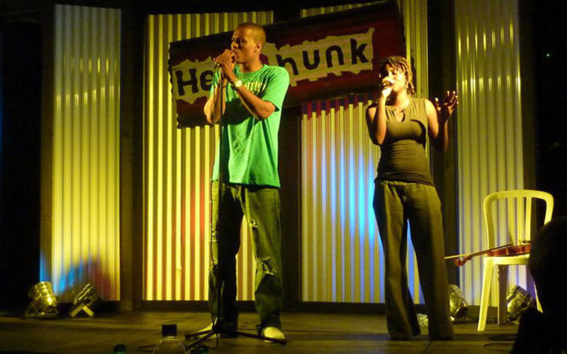 Performing at Headphunk with Ngozi, Saint Lucia