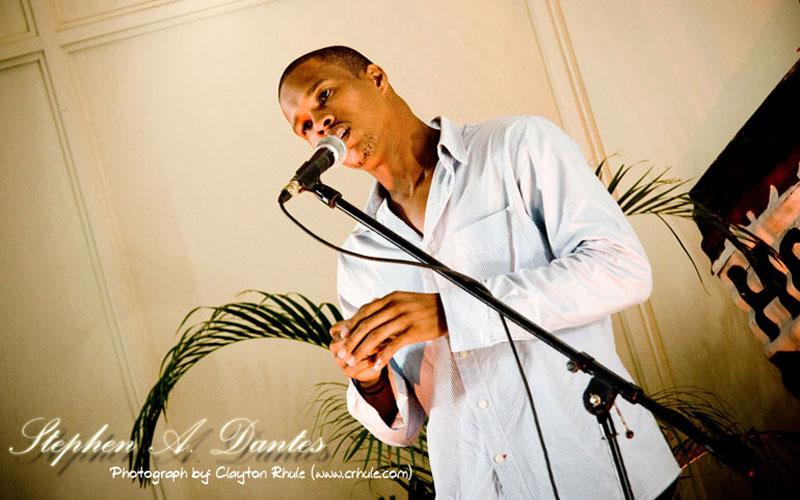 Performing at Word Alive, Saint Lucia