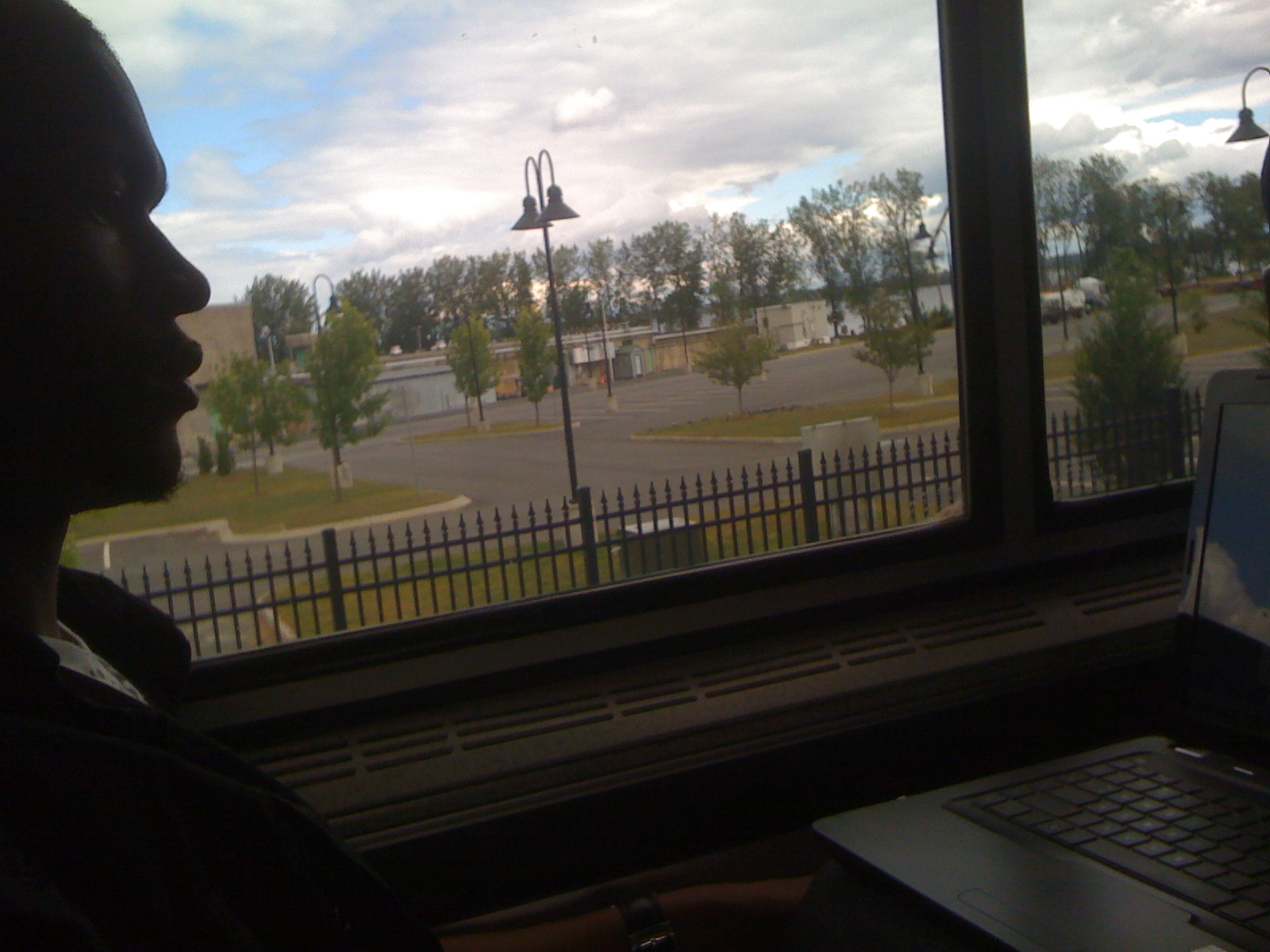 Crossing the border on a train: NYC to Canada