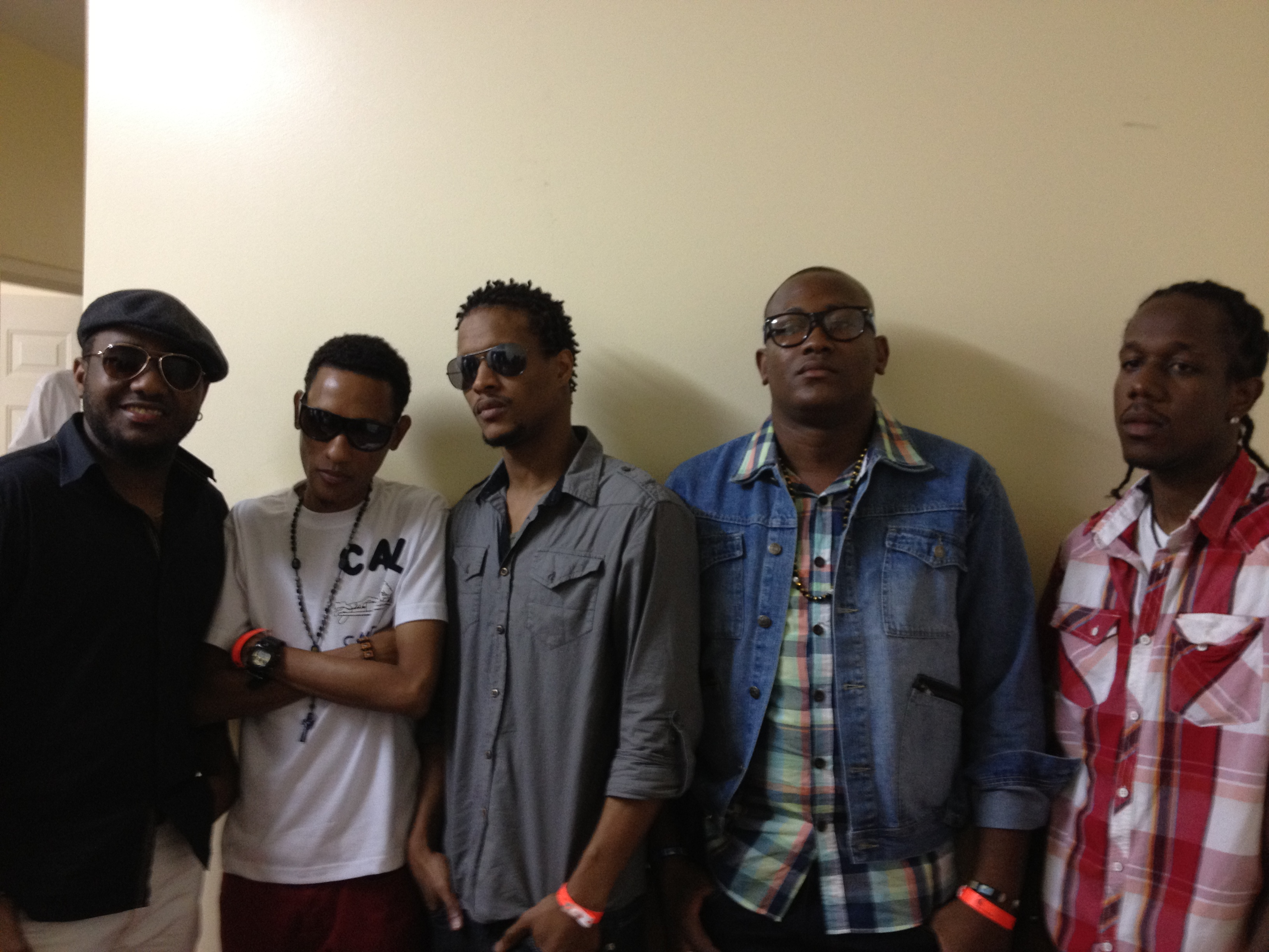 Shayne Ross, Young Mecca, Stephen Dantes, Twizzy Don, Shepp Dawg: 2012 Telethon Backstage